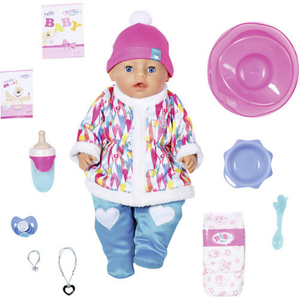 BABY born® Soft Touch Wintertime Girl 43cm