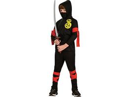 Kostüm Ninja, 6-tlg.