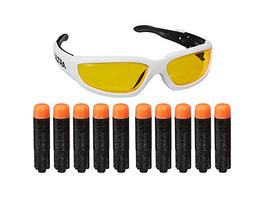 Nerf Ultra Vision Gear Brille und 10 Nerf Ultra Darts – das Nonplusultra beim Abfeuern von Nerf Darts – die Darts sind nur mit Nerf Ultra Blastern kompatibel