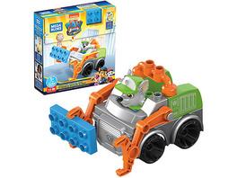 Mega Bloks PAW Patrol Rockys Recycling-Müllauto inkl. beweglicher Figur