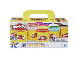Play-Doh Knet-Dosen 20er-Pack - World of Color