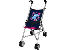 Puppen-Buggy, blau/pink von Bayer