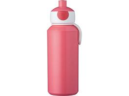 Trinkflasche Pop-up Campus pink, 400 ml