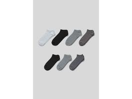 Multipack 7er - Sneakersocken - Bio-Baumwolle