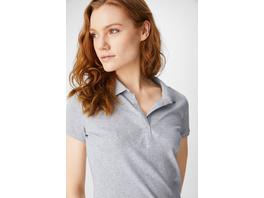 Basic-Poloshirt - Bio-Baumwolle