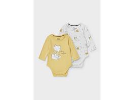 Multipack 2er - Winnie Puuh - Baby-Body - Bio-Baumwolle