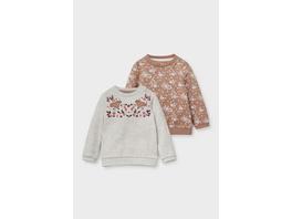 Multipack 2er - Baby-Sweatshirt