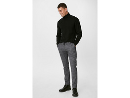 Chino - Tapered Fit - recycelt - kariert