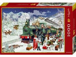 Boxpuzzle Nostalgische Eisenbahn ()